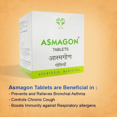 Asmagon - 100 Tablets - Nirogam