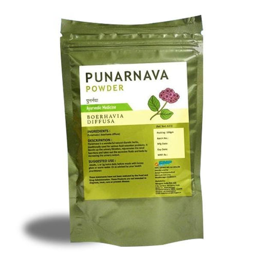 Punarnava Powder  - 100 Grams - Nirogam