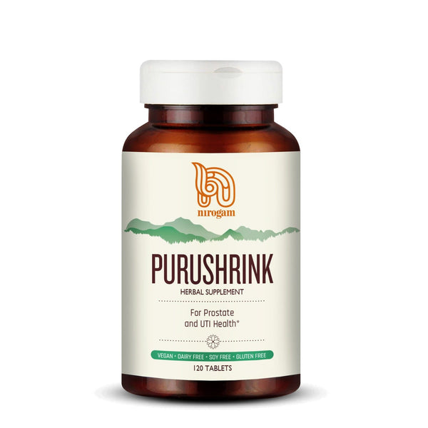 Purushrink for Prostate Disorders including Enlargement and BPH (120 Tablets)