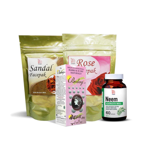 The Ayurvedic Whole Beauty Pack - Nirogam