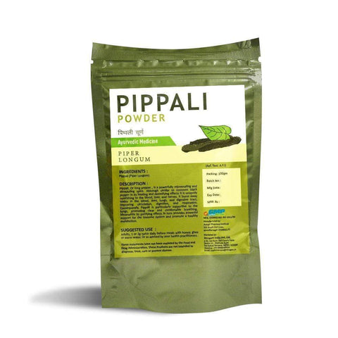 Pippali Powder  - 100 Grams - Nirogam