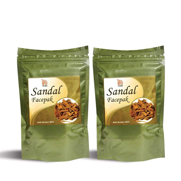 Sandalwood Multani Mitti Face Pack 100 gms - Pack of 2
