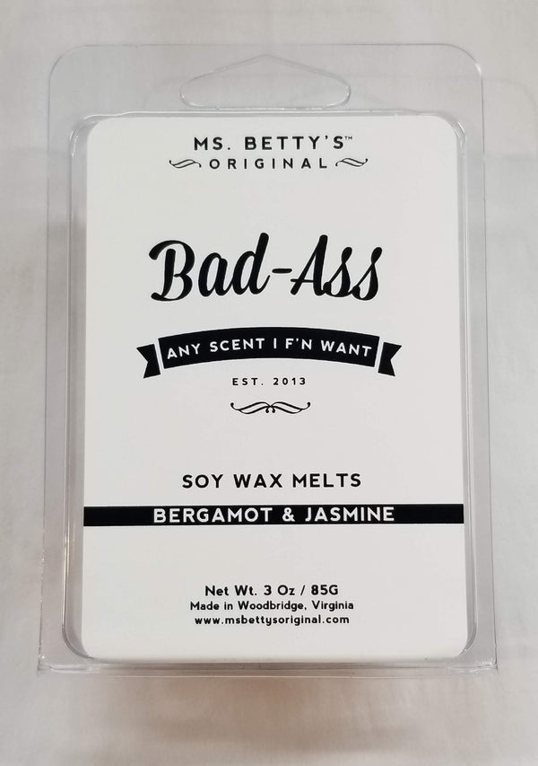 Bergamot and Jasmine Bad-Ass Soy Melts