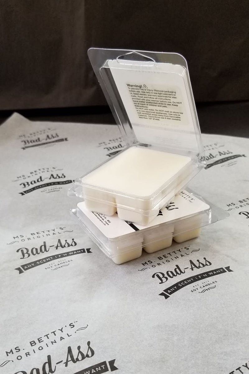 Bad Ass Soy Wax Melts - Bergamot and Jasmine - Ms. Betty's Original