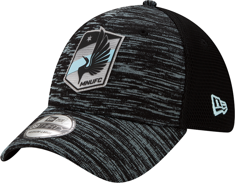 Minnesota United Men's New Era ONFIELD 3930 Hat 2020 Black