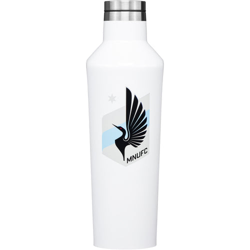 Minnesota United Corkcicle 16 Oz Gloss Canteen White