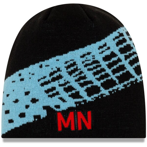 Minnesota United Men's New Era Letter Net Beanie Black