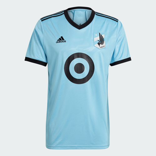 MNU M Mens SS Replica Jersey Light Blue