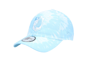 ThumbnaiMinnesota United FC New Era Tie-Dye Casual Classic 9TWENTY Adjustable Hat - Light Blue