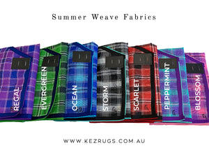 "Summer Weave RUG ONLY Sizes (3' - 4'9"")"