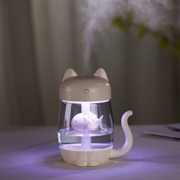 Ultrasonic Air Humidifier | Usb Essential Oil Diffuser in many different characters