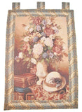 "Picnic Getaway Bold Fusion Artistic Elegant Woven Fabric Baroque Tapestry Wall Hanging - 36"" X 50"""