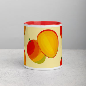 PANZERA™ Signature Line | Fun Fruit Line Mango | Mug with Color Inside
