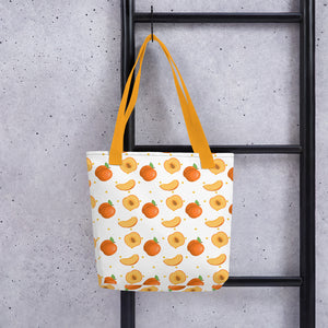 PANZERA™ Signature Line | Falling Peaches | Tote bag