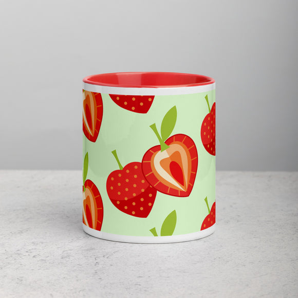 PANZERA™ Signature Line | Fun Fruit Line Strawberry | Mug with Color Inside