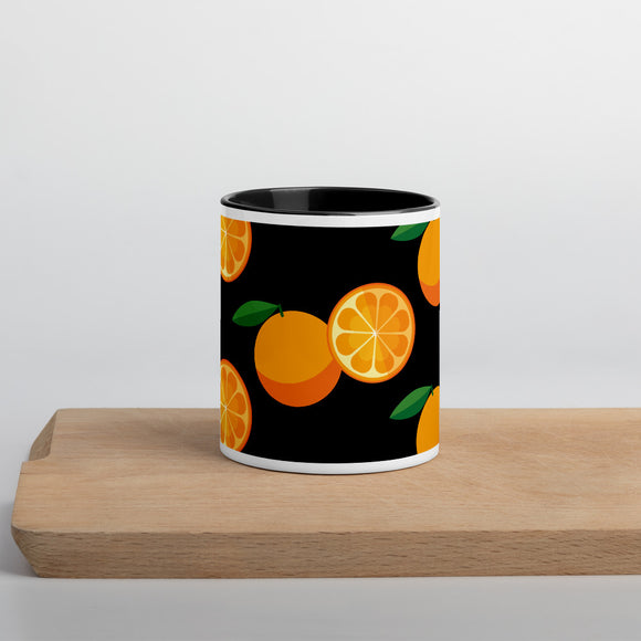 PANZERA™ Signature Line | Fun Fruit Line Orange | Mug with Color Inside