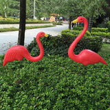 Pink & Red Garden Lawn Flamingo Decorations