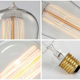 Vintage Edison Retro Incandescent Antique Bulbs | Variety of Decorative Filament Styles