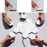 Quantum Honeycomb | Wall Accent Touch Lights