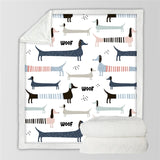 Dog Lovers Designer Blanket | Home Accents