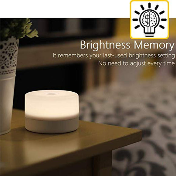 Dim-able Press Light | Table-side Night Light