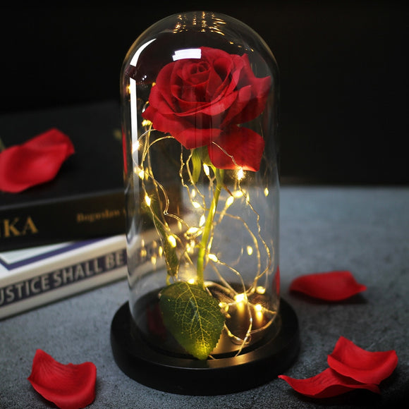 Beauty And The Beast | Eternal Rose Light
