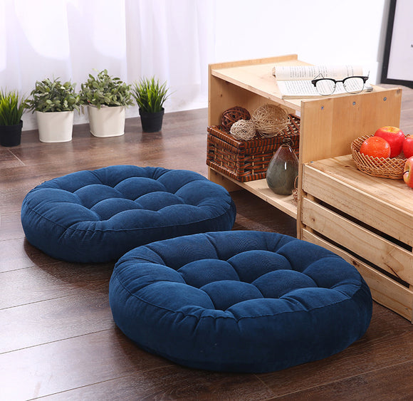 Round Shape Floor Seat Cushion in a variety of colors 1pc