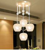 Modern Minimalist Chandelier | 3 Color Choices