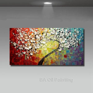 Abstract Modern Wall Paintings in Oil | Hand-painted