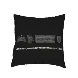Gamer Geek Design Pillow & Cushion Covers