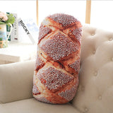 Creative Bread Pattern Pillow | Soft and Plush