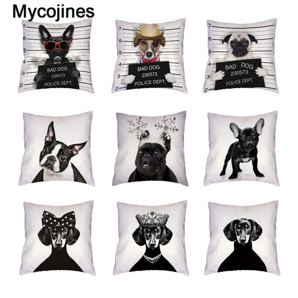 Bad Dogs Fashion Pillow Covers
