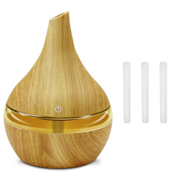 Electric Aroma Air Diffuser | Wood Pattern