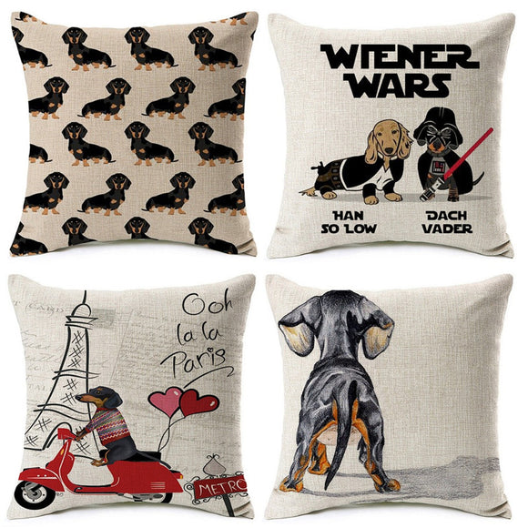 Dog Lovers Fashion Pillows | Home Accents