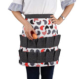 Farmhouse egg collecting Aprons | 12 Pockets Harvest Carrier