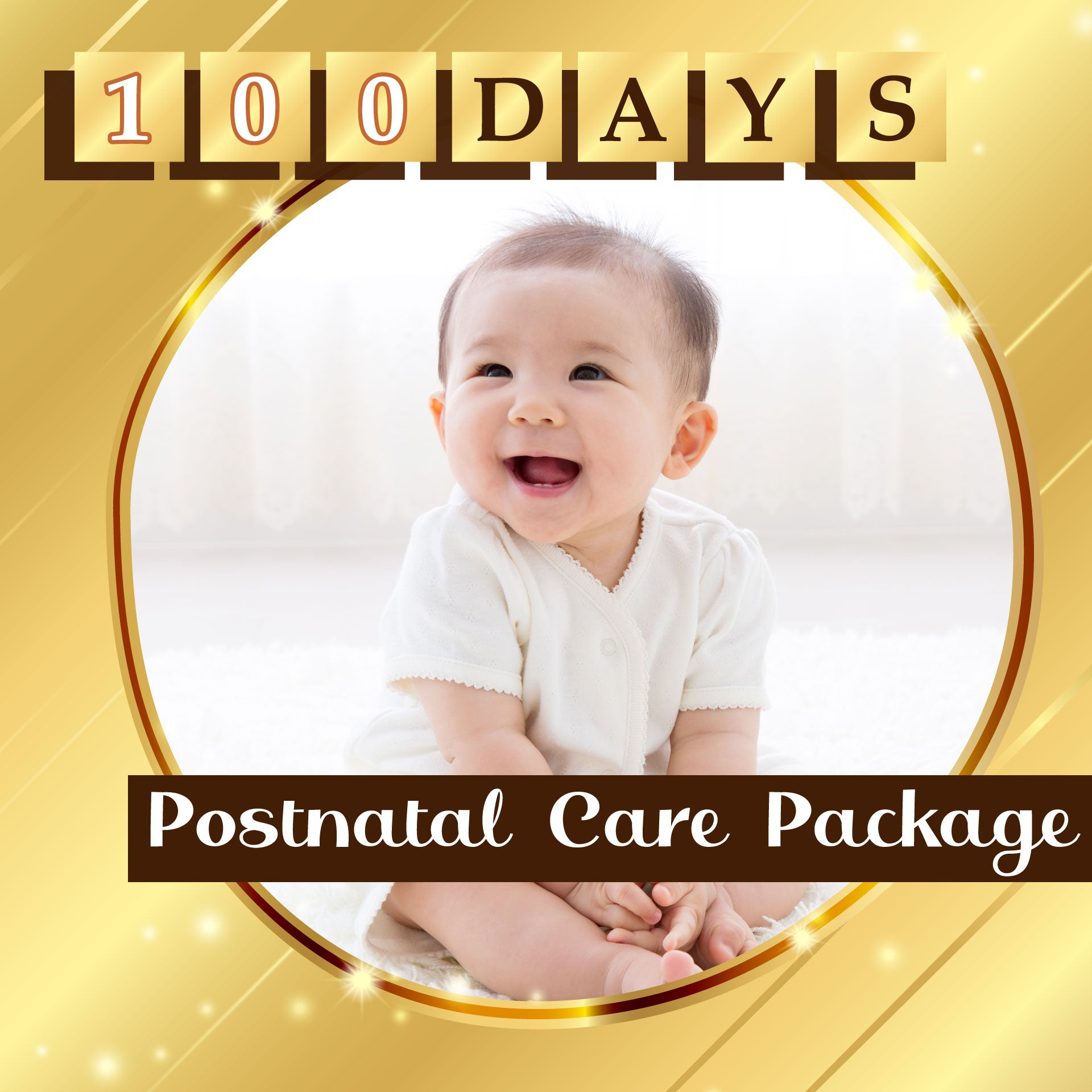 100 Days Postnatal Care Package (38 Boxes of Organic Drip Chicken Essence)