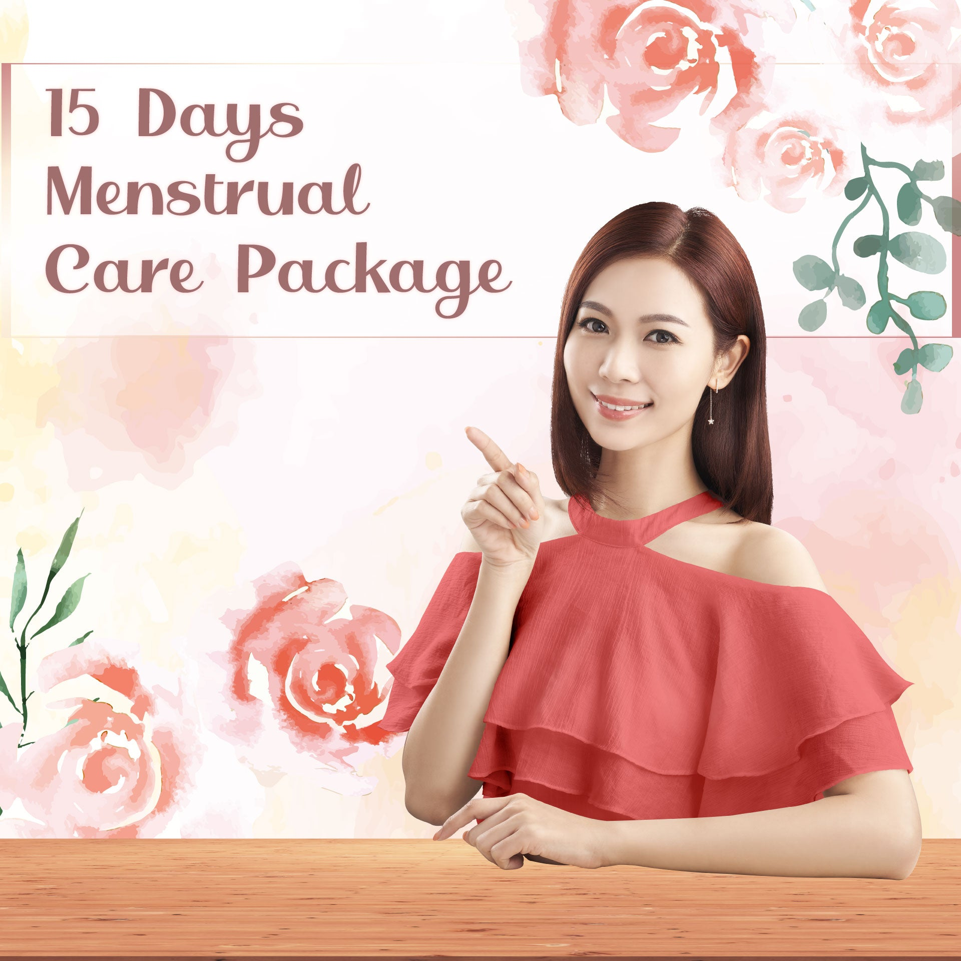 15 Days Menstrual Care Package (4 Boxes of Organic Drip Chicken Essence)