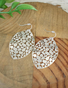 Delicate Leaf Earrings