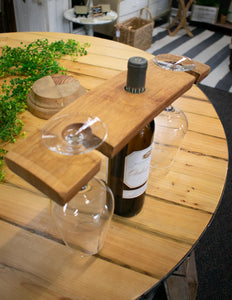Wine Barrel Stave Caddy