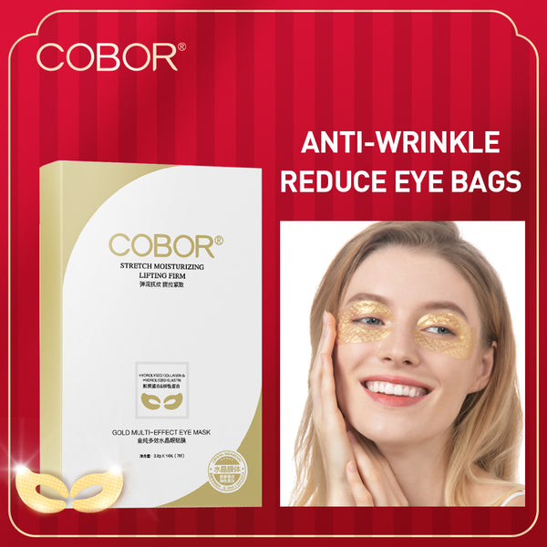 COBOR Collagen Eye Masks for Fighting Eye bags & Dark circles