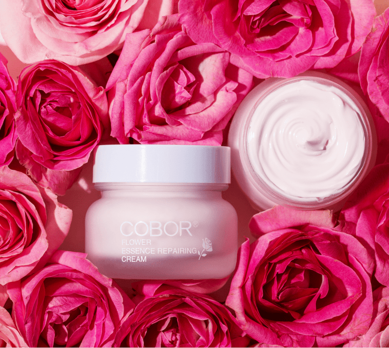 cobor desert rose tone up cream flower essence reparing cream for whitening the skin, reducing wrinkles and fine lines