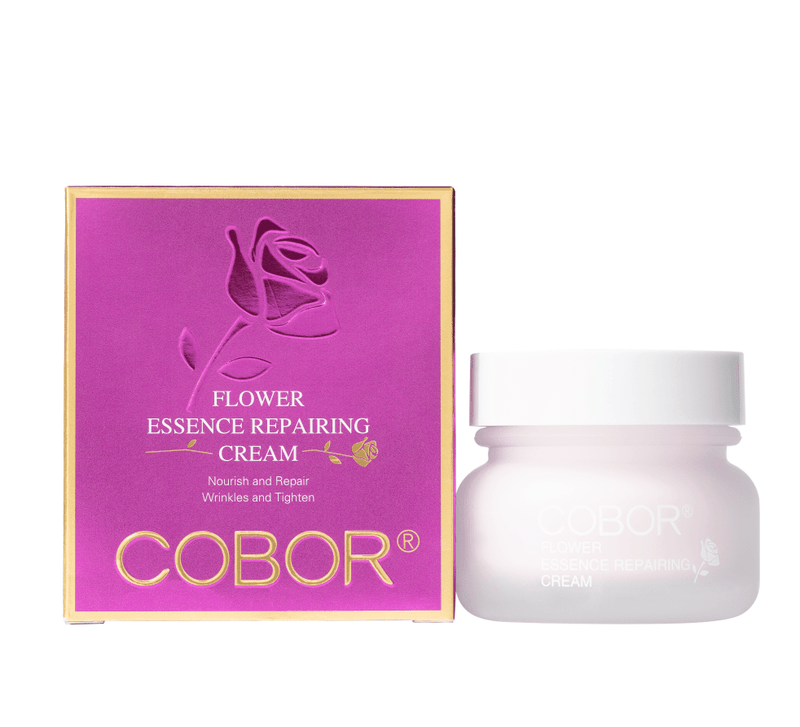 package of cobor desert rose flower essence repairing cream tone up cream nourish and repair the skin