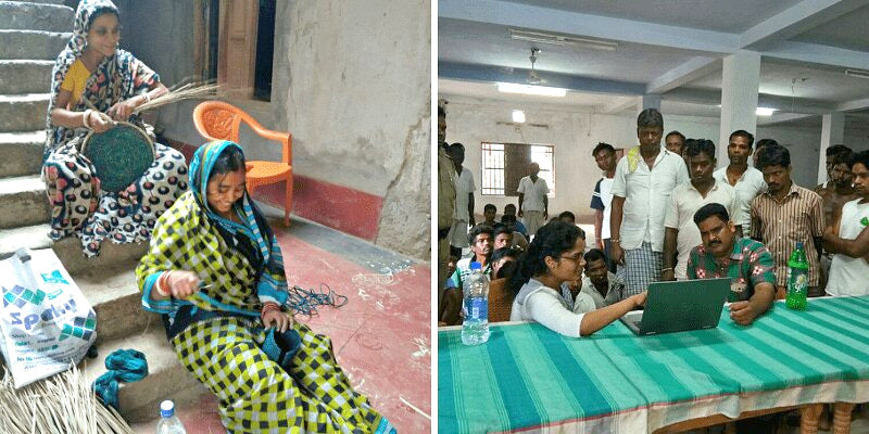 Kalaghar works with women artisans and prisons from Badipada jail.