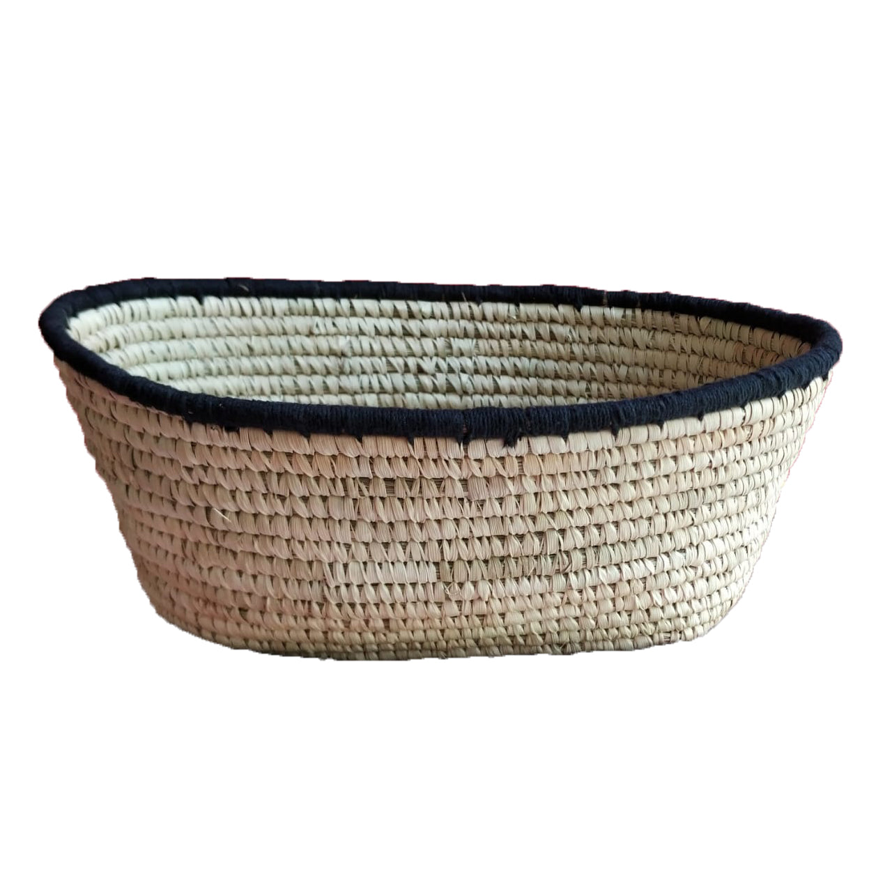 Modern Woven Storage Basket For Accessories Storage| KalaGhar