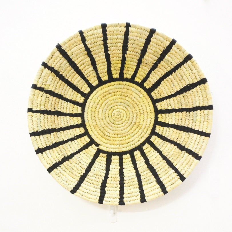 Sunburst Wall Basket - Handmade Home Decor | KalaGhar