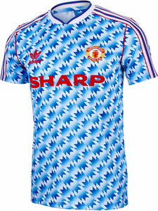 1990-1992 Manchester United Away Jersey