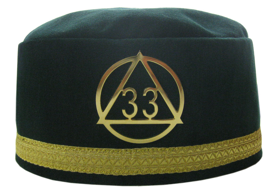 Australian Constitution 33rd Degree Cap and Badge