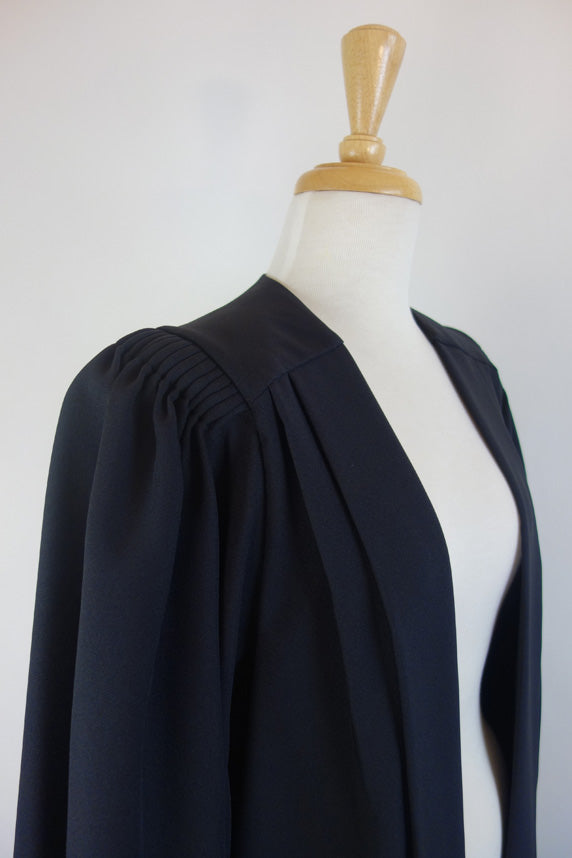 Bachelor Graduation Gown in Wool Poly Blend
