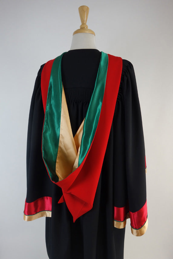 Swinburne University Doctor of Business Graduation Gown Suite