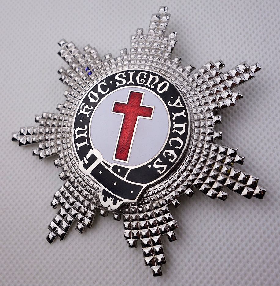Knights Templar and Knights of Malta Large Breast Star